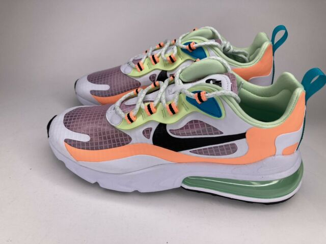 Women S Nike Air Max 270 React Se Light Arctic Pink Black Cj0620
