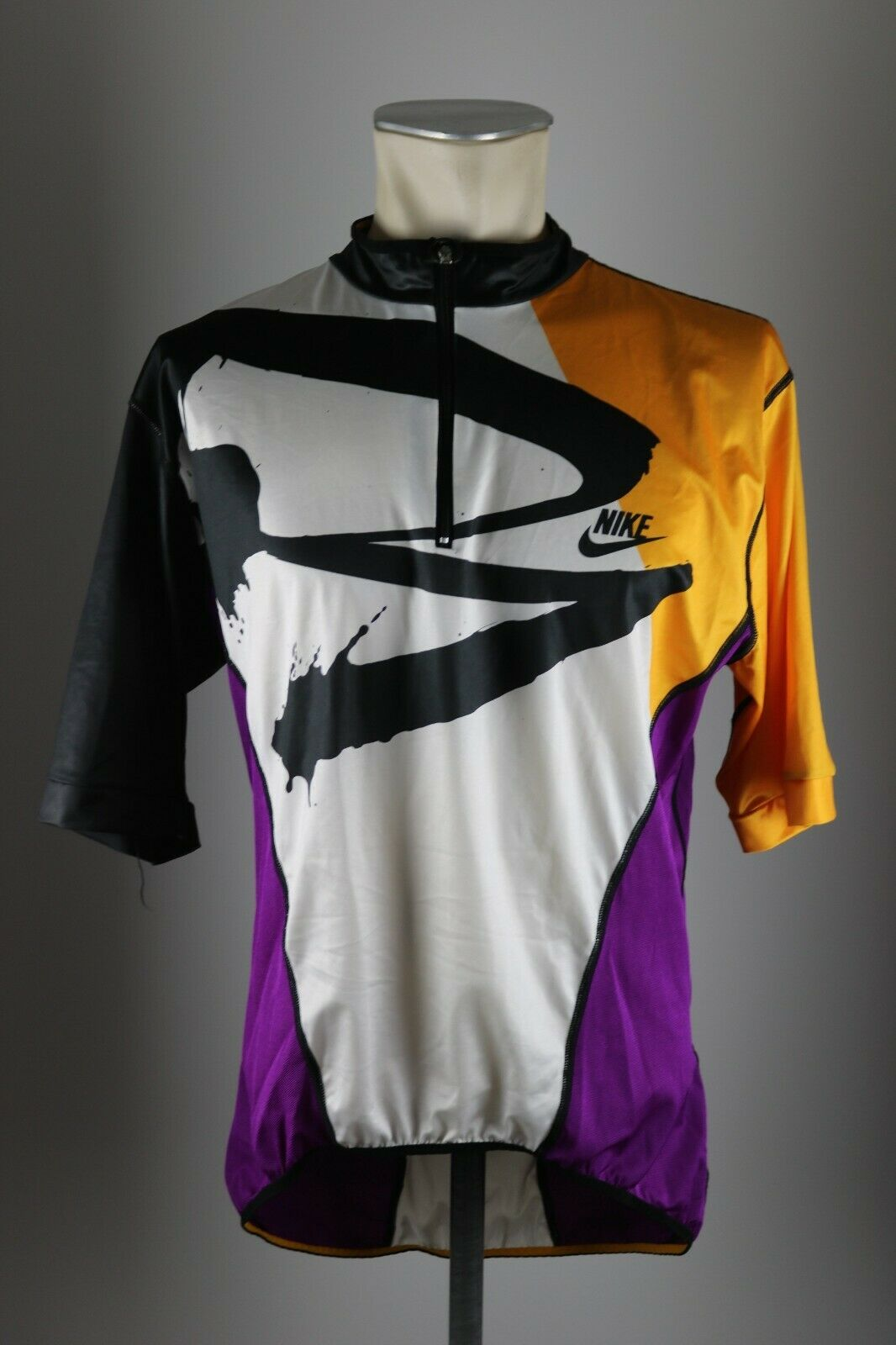 Nike 90s Vintage  Cycling Bike Jersey Size XXL BW 57cm Bike Cycling Jersey AZ3  best quality best price