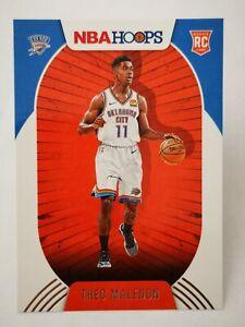 Panini Hoops 2020-21 N22 card NBA Rookie RC OKC Thunder #230 Theo Maledon