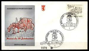 Candide De Berlin Du Cabriolet Cocher Du 19 Siècle, Fdc (2). W. Berlin 1969-her Des 19 Jh. Fdc(2). W.berlin 1969fr-fr Afficher Le Titre D'origine Saveur Aromatique