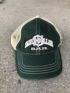 Details about SILVER DOLLAR BAR MISSOULA MONTANA HAT GREEN TAN STRAPBACK  ADJUSTABLE