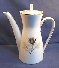 Rosenthal, Mokkakanne 0,6 Liter, Kanne, Form 2000 Schattenrose, Porzellan