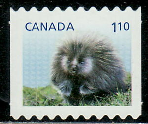 Canada-2605ii-Baby-Wildlife-Definitive-From-Coil-Die-Cut-MNH