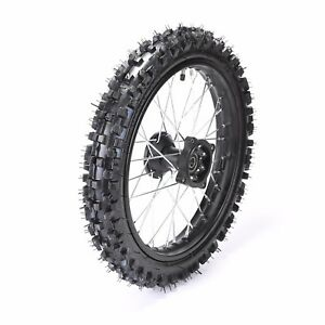 14 Inch Tires >> 60 100 14 Inch Wheel Rim Tire Tyre Front 1 4x14 For Dirt Pit Trail