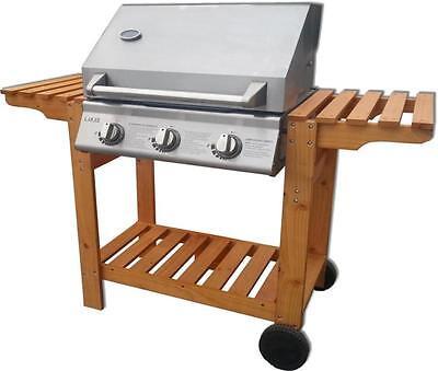 Barbeque a Gas Barbecue PIETRA LAVICA Bbq piastra Grill inox bruciatore ghisa