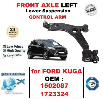 Left 08 to 12 1502087 Suspension Arm Front Lower FORD KUGA Mk1 2.0D Wishbone