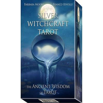 Silver Witchcraft Tarot Kit - Includes Deck and Book!
