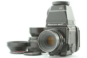 Eccellente-5-Mamiya-RB67-PRO-SEKOR-C-127mm-180mm-2-Lens-120-Film-Retro-dal-Giappone