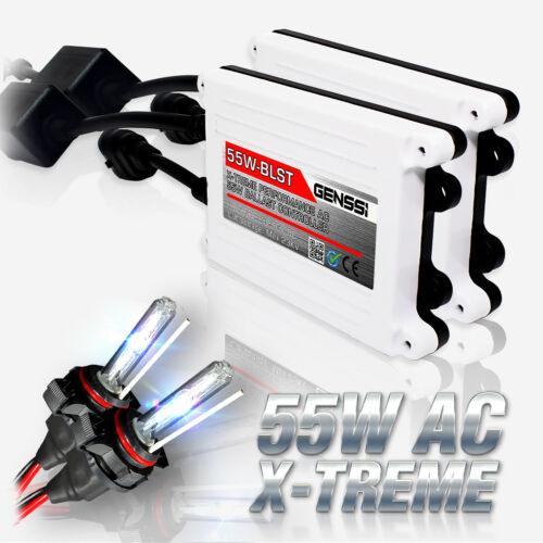 2x Super White 6000K Bulb H4 55W HID Kit Head Light for ATV Low Beam