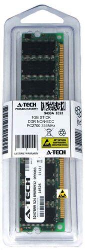 A-Tech 1GB PC2700 Desktop DDR 333 MHz DIMM 184pin DDR1 Low Density Memory RAM 1G
