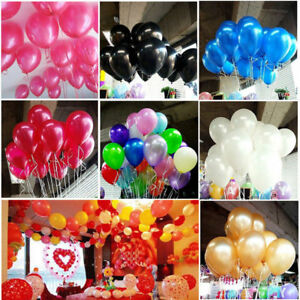 Accessories & Parts 100pcs Colorful Pearl Gold Candy Color Latex Balloon Celebration Wedding Decorations Happy Birthday Party Balloon Pet Products