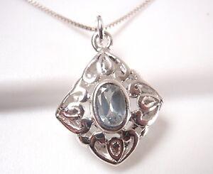 Faceted-Blue-Topaz-Filigree-925-Sterling-Silver-Pendant-Corona-Sun-Jewelry
