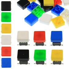 A66 Tactile Cap Amp Switch Momentary Button Square Flat Keycap 6 Colours