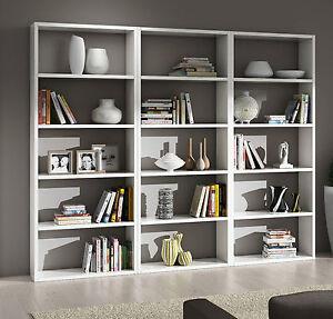 Mobile libreria componibile salotto soggiorno ebay for Libreria salotto