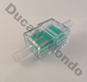 6mm inline fuel filter square for motorcycle motorbike moped scooter trials MX