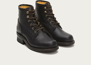 Frye Womens Black Boots Leather Boot Tyler Engineer