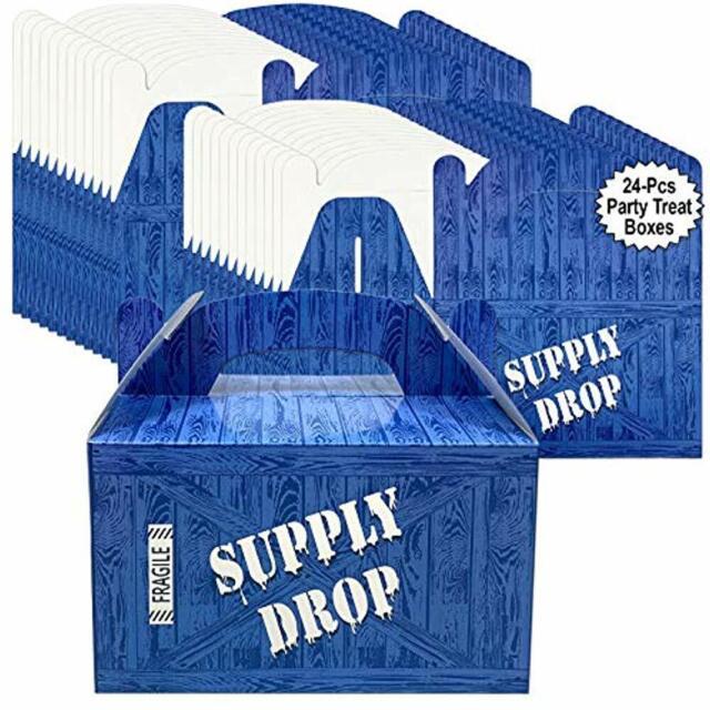 PARTY DROP BOX BATTLE LOOT SUPPLY DROP BOX BLUE