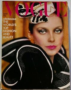 1973 Zandra Rhodes VOGUE 70s fashion Bill Cunningham Paris YSL Halston Missoni