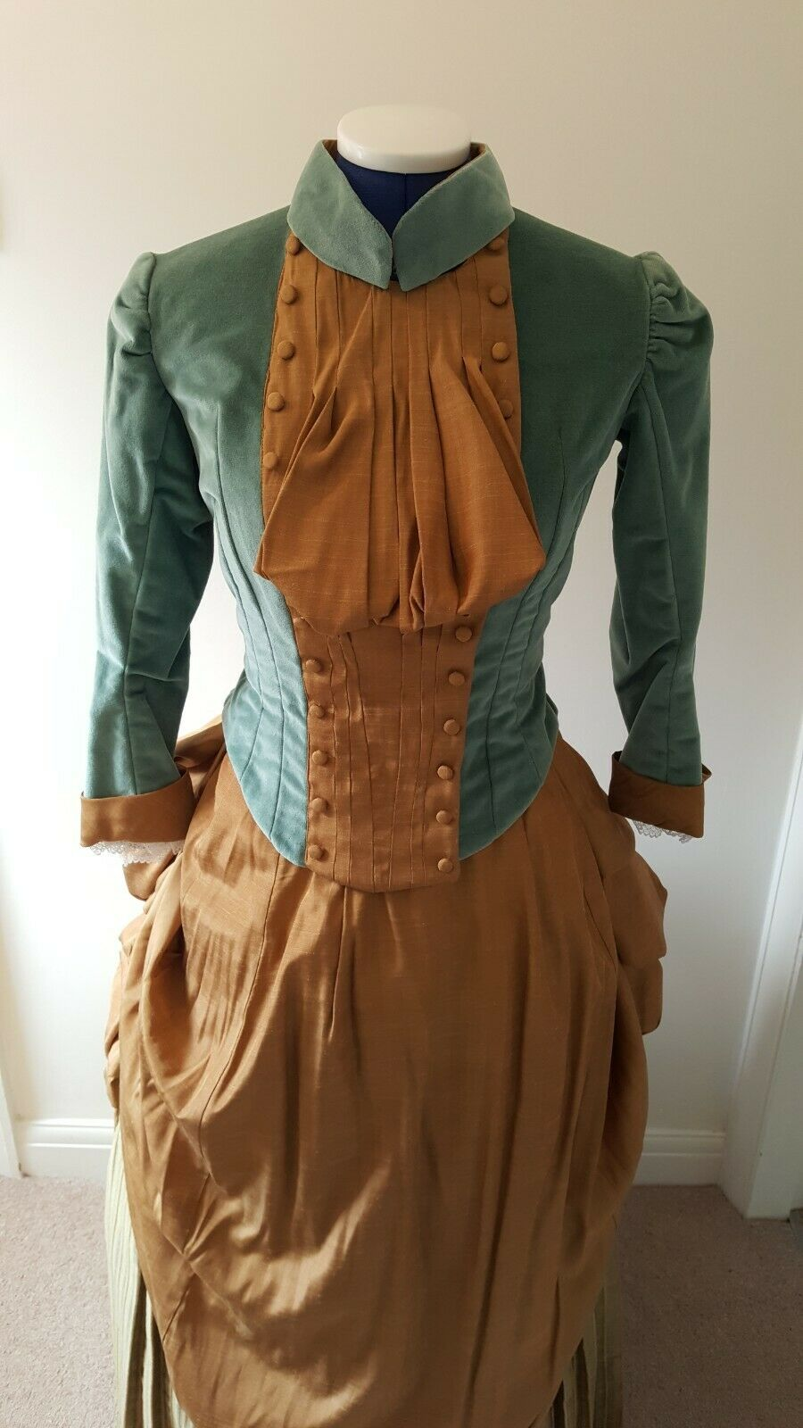 Stage Costume Late 1800s Nora A Dolls House By Henrik Ibsen Approx Size 8