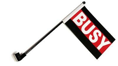 Busy Desk Flag with Flag Up Flag Down Clip Status Alert Office Single