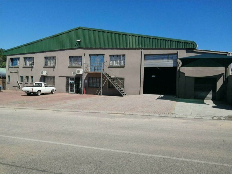Warehouse for sale  developed business park In Nelspruit