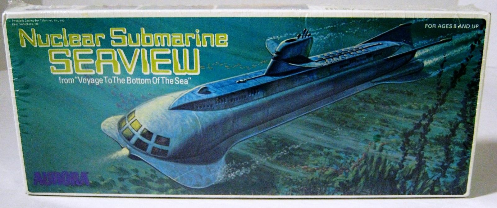Viaje hasta el fondo del mar-Seaview Aurora Model Kit de submarinos nucleares
