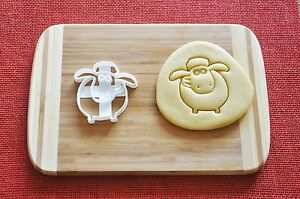 Shaun The Sheep Cookie Cutter Cartoon Biscuit Stamp Cake ...