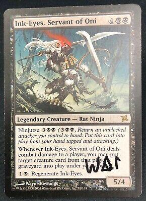 Servant of Oni Betrayers of Kamigawa HP MTG Magic The Gathering Ink-Eyes
