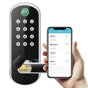 Keyless Bluetooth Password App Remote Control Unlock Doorlock Waterproof Keypad