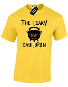CHAUDRON BAVEUR Hommes T Shirt sorciers Harry Poudlard sort butterbeer