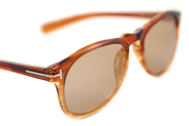 0f7f74f0d3 Tom Ford Flynn Tf9291 41a 54mm Mens Keyhole Bridge Sunglasses Light Brown  0291 for sale online
