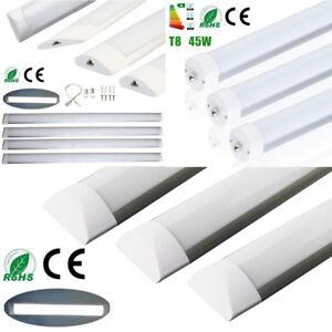 2-3-4-8ft-5-75W-R17D-T5-T8-Tube-Light-LED-Ceiling-Surface-Mount-Fluor-Nano-Lamp