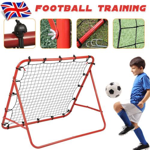 Soccer Football Training Net Pro Rebounder Kickback Exercise Pratice Equipment.
