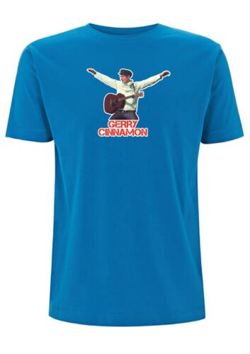 Gerry Cinnamon T Shirt Transmit Scotland Glasgow Folk Music Festival guitar song