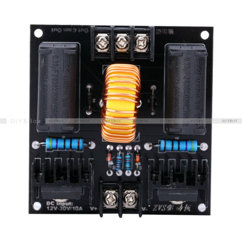 Case ZVS Tesla DC Coil Marx Generator 12-30V High Voltage Power Supply Module