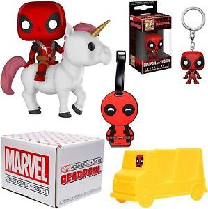 Funko-Marvel-Coleccionista-Corps-Deadpool-Unicornio-36-Vinilo-Taco-Holder-Gift-Pop