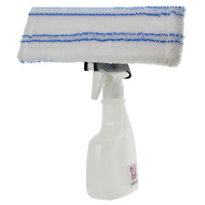 Spray-Bottle-Kit-for-Karcher-WV55-WV65-Window-Vacuum-Microfibre-Pad-Cloth-Cover