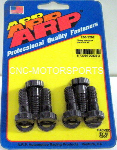 ARP CLUTCH COVER PRESSURE PLATE BOLT KIT 230-2202 CHEVY 265 502 V8 PRO SERIES