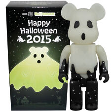 Medicom Be@rbrick Bearbrick Halloween 2015 (Black & Silver) 400% Figure