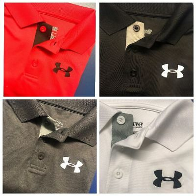Under Armour 2018 Youth Boys UA Performance Short Sleeve Polo Shirt