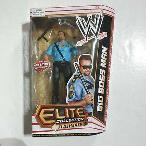 RARE-WWF-WWE-Big-Boss-Man-Elite-Series-14-wrestling-figure-Boxed