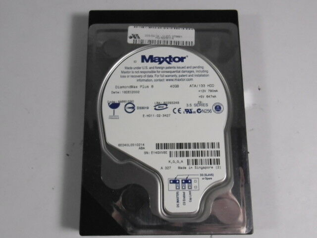 Maxtor E-H011-02-3437 Hard Drive 30GB  USED