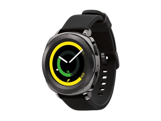 eed3dc322 Samsung 2017 Gear Sport Smart Watch SM-R600 Super AMOLED 1.0GHz Bluetooth  /Black