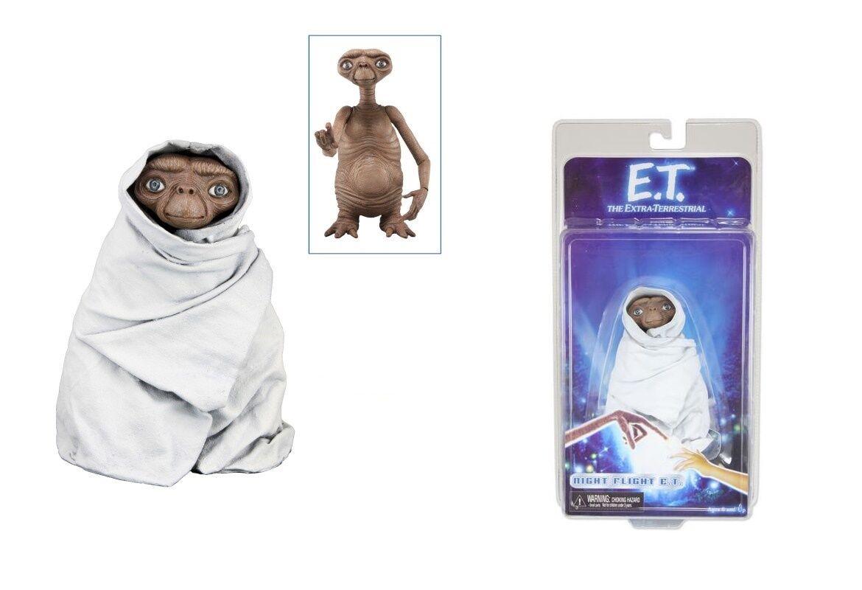NECA E.T E.T E.T THE EXTRA-TERRESTRIAL SERIES 2 NIGHT FLIGHT E.T. ACTION FIGURE 2012 3c881e