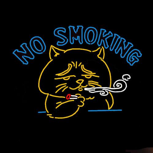 "24/""X20/""No Smoking Neon Sign Light Home Room Decor Shop Wall Poster Artwork Light"