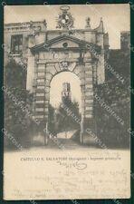 Treviso Susegana Castello PIEGHINA cartolina VK0503