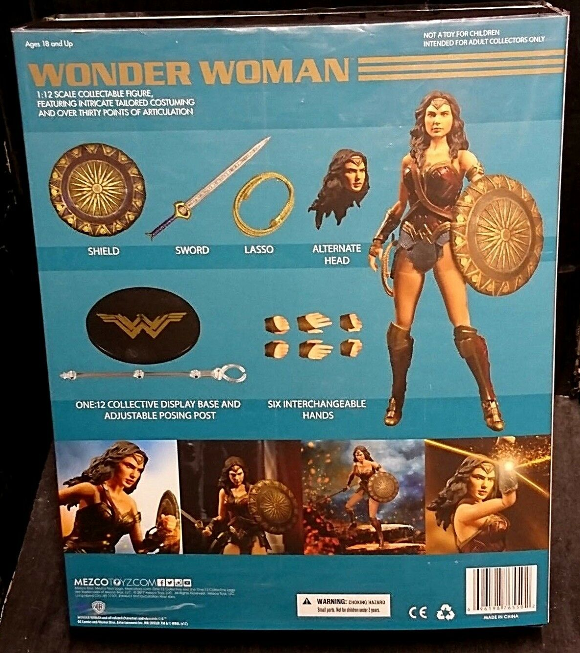 ONE 12 Collective WONDER WONDER WONDER WOMAN 6  New  Mezco (Gal Gadot Batman v Superman DC) 39b199