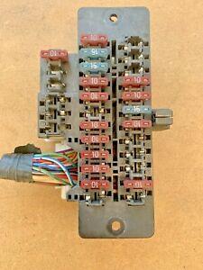 1984 1985 1986 nissan 300zx interior fuse box left front non-turbo oem |  ebay  ebay