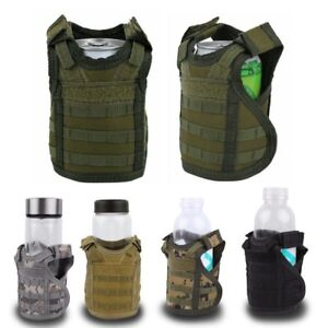 Camping & Hiking Sports & Entertainment Beer Vest Mini Tactic Military Vest For Beer Bottle Miniature Wine Bottle Cover Vest Beverage Cooler Camping Hiking Accessories Sale Overall Discount 50-70%