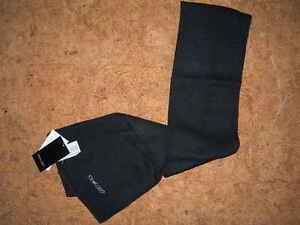 sciarpa-REEBOK-unisex-100-acrilico-calda-Nero-taglia-unica-nuova